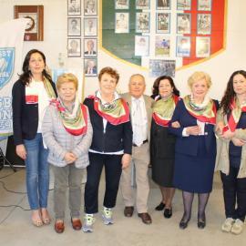 2016 Il foulard di Virginia: Rosanna Pacifici, Fanny Torresan, Sergia Salmaso, Elide Perdon, Orietta Cibin e Maura Grando