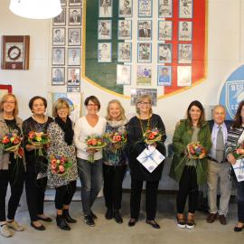 2017 Il foulard di Virginia: Manuela Bortolotti, Vera Buosi, Doriana D'Andrea, Dolores Gaiotto, Adelaide Pelizzon, Donatella Travagin, Cinzia Troian, Franca Gressini